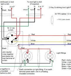 do staircase wiring circuit with 3 different methods electrical brilliant 2 way switch diagram [ 1294 x 869 Pixel ]