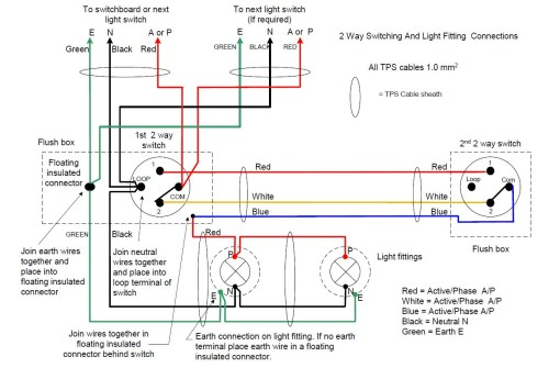 small resolution of do staircase wiring circuit with 3 different methods electrical brilliant 2 way switch diagram