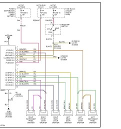 2001 dodge factory radio wiring diagram manual e book dodge caravan radio wiring diagram 2001 dodge [ 946 x 962 Pixel ]