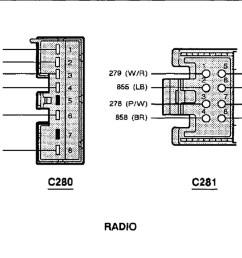 1993 ford thunderbird lx radio diagram diy enthusiasts wiring 1994 ford tempo wiring diagram 1993 ford [ 1304 x 906 Pixel ]