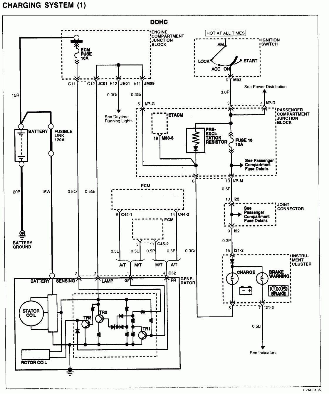 2001 Santa Fe Wiring Schematic Diagram2001 17
