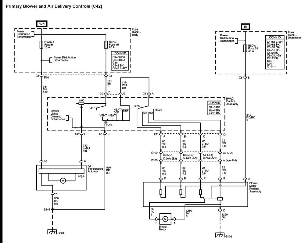 medium resolution of 2000 chevy silverado blower motor diagram diy enthusiasts wiring 2002 chevy cavalier wiring diagram schematic 2000
