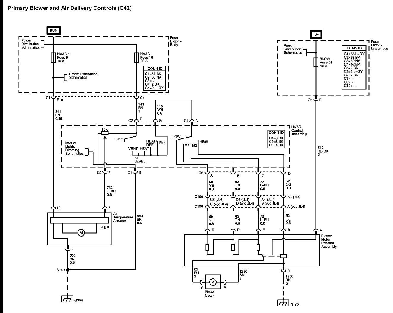 hight resolution of 2000 chevy silverado blower motor diagram diy enthusiasts wiring 2002 chevy cavalier wiring diagram schematic 2000