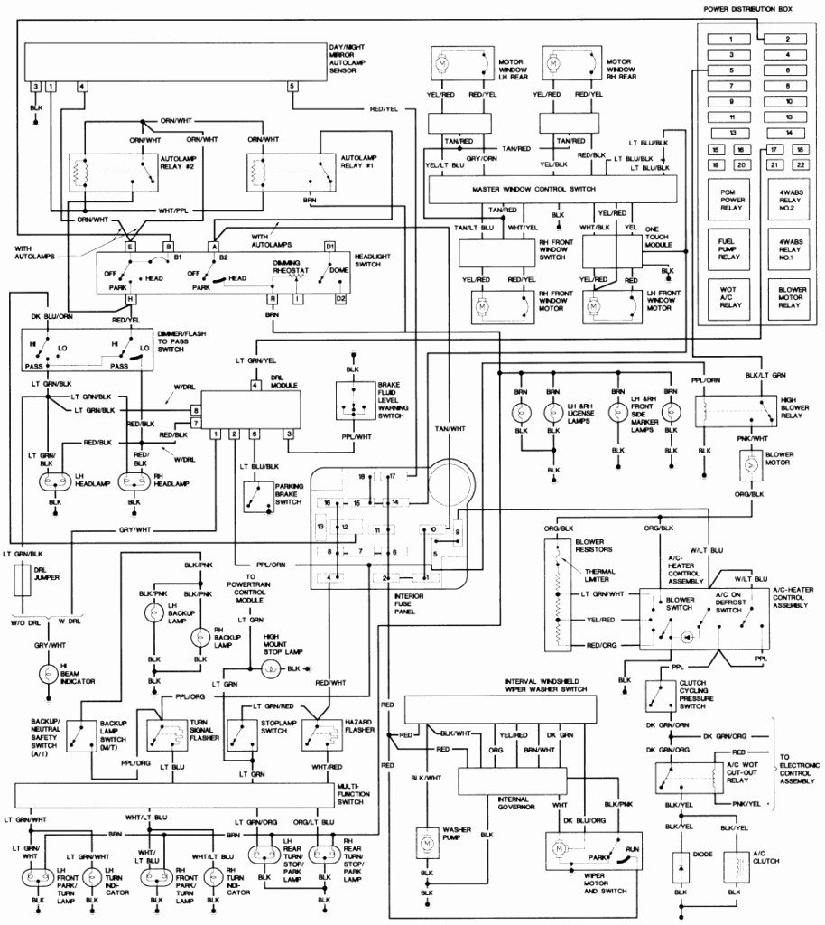 1992 Ford Explorer Wiring Diagram
