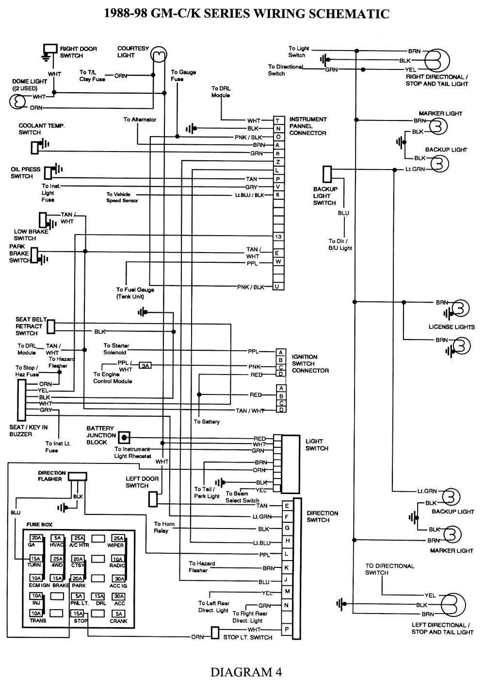hight resolution of 2006 silverado light wiring diagram wiring diagram schematics 2003 impala tail light wiring diagram 03 silverado