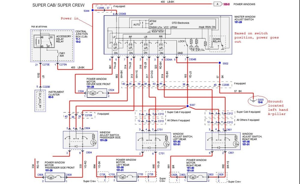 medium resolution of ford f150 wiring diagrams 07 08 wiring diagram rows 2007 ford ranger wiring diagram 07 ford wiring diagram