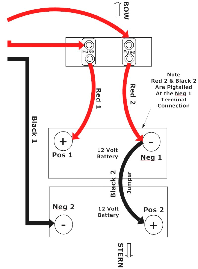 30 How To Wire A 24 Volt Trolling Motor Diagram