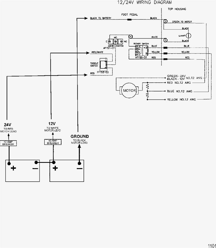 24 Volt Trolling Motor Wiring Diagram : 21 Redfisher 24v