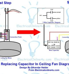 5 accessories com installing wire ceiling fan capacitor with regard to replacing in [ 1178 x 686 Pixel ]