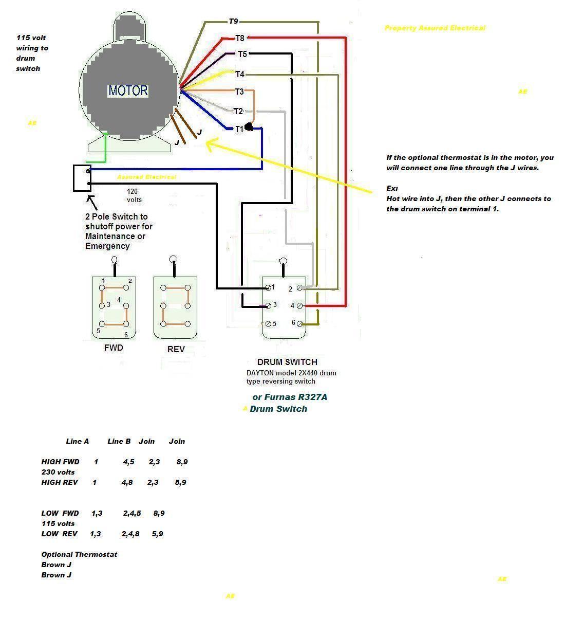 Motor Starter Schematic