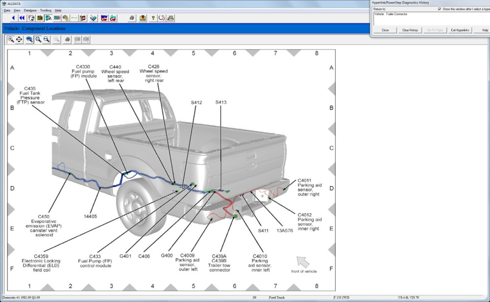 medium resolution of ford trailer wiring diagram 7 way unique f 150 pin 6 square wire 2001 ford expedition