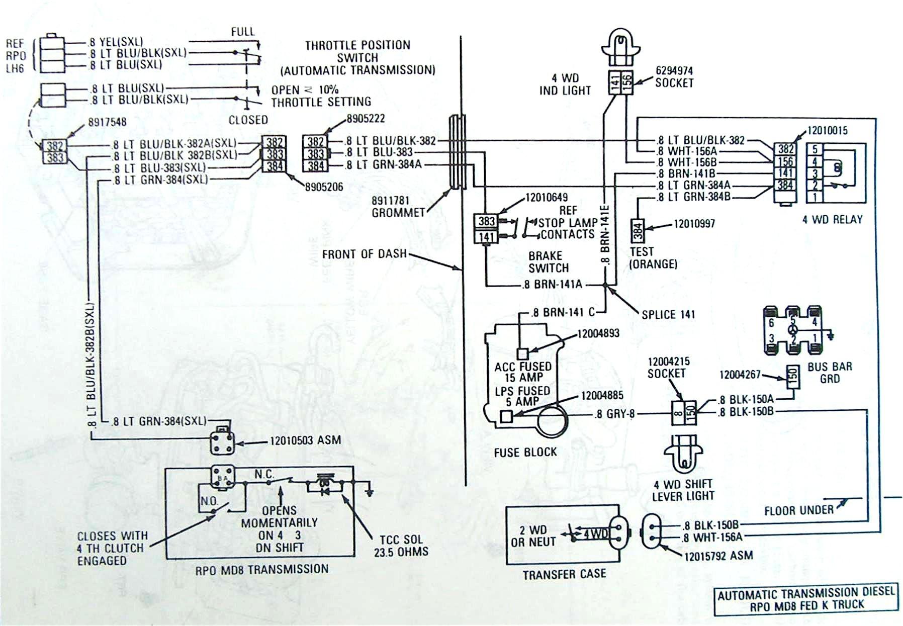 Chevy 700r4 Wiring Diagram | Machine Repair Manual on