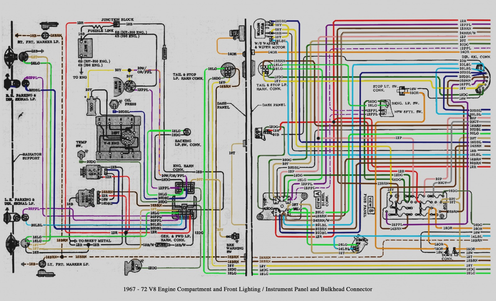 hight resolution of colored wiring diagram 72 chevy pickup free wiring diagram fuse 1997 chevrolet cavalier wiring diagram