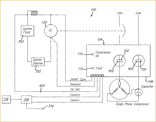small resolution of 3 phase hvac compressor wiring wiring diagram sheet single phase compressor wiring schematics