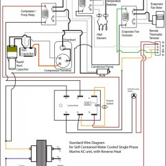 Wiring Diagram For Ac Unit Capacitor Ladder Hvac Schematic Library Automotive Diagrams