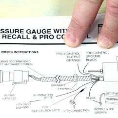Pricol Oil Pressure Gauge Wiring Diagram 2005 Ford Escape Xlt Radio Autometer