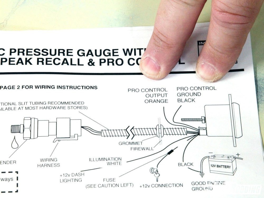 medium resolution of oil pressure gauge wiring diagram gallery electrical and autometer tach wiring diagram inspirational part 6