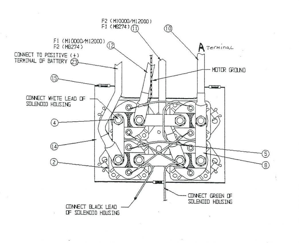 warn xd9000i solenoid wiring diagram cat5 twisted pair badland wireless winch remote control
