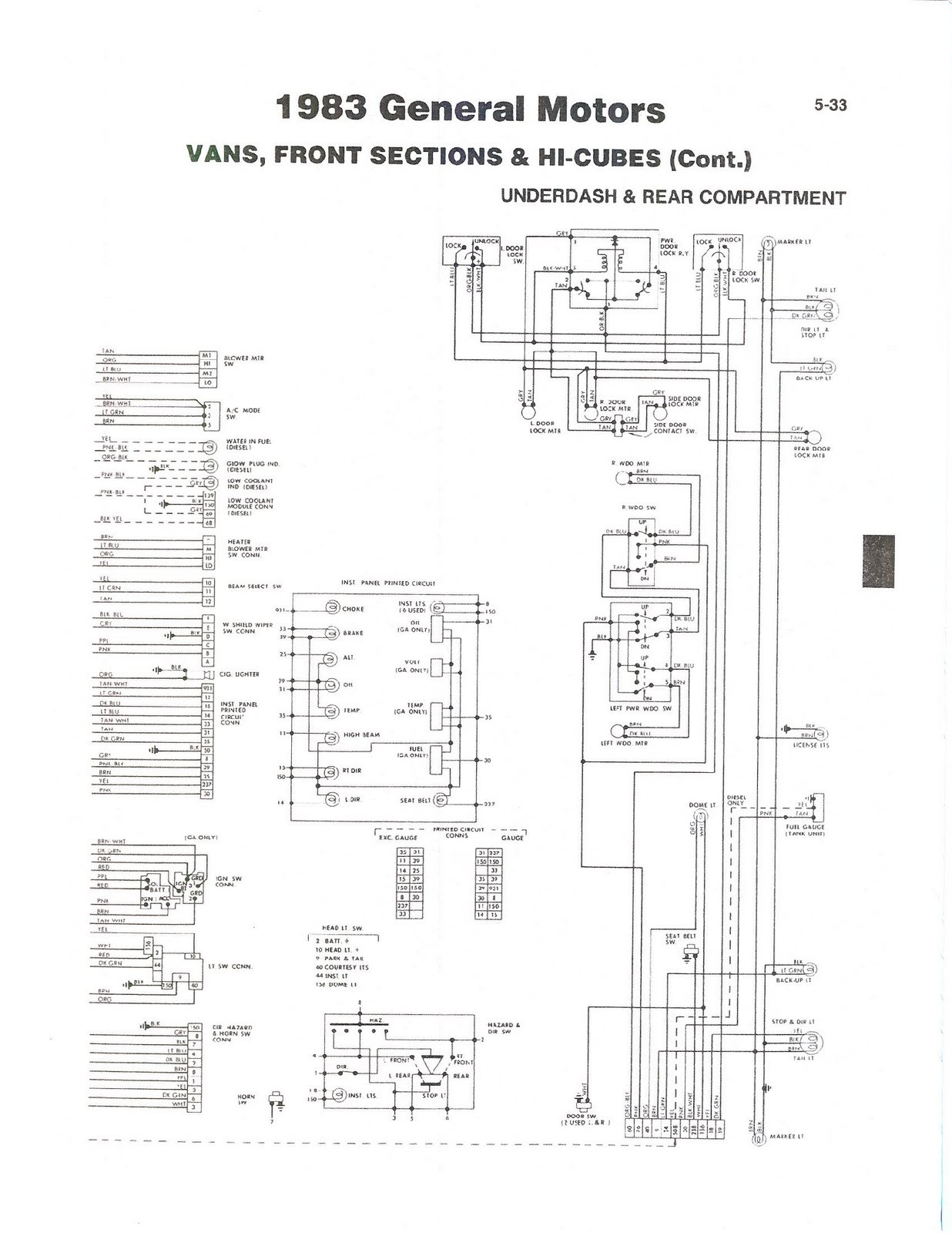 hight resolution of diagram for 1992 fleetwood bounder rv also 1988 fleetwood bounder 1987 bounder wiring diagram