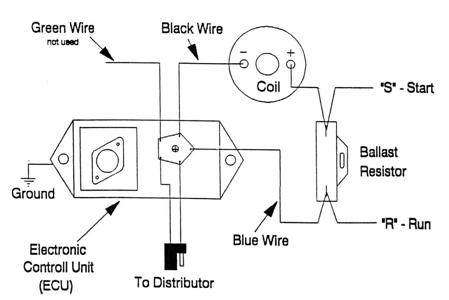 Automotive coil wiring diagram