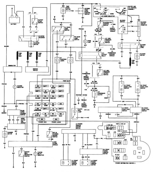 small resolution of 1988 chevy s10 wiring harness data wiring diagram 1988 chevy s10 wiring harness