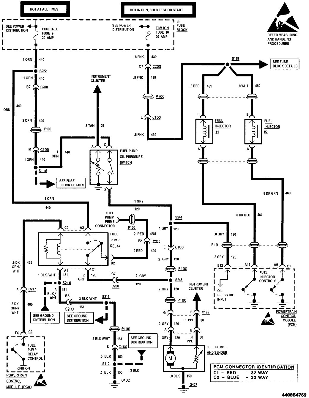 Wiring Diagram PDF: 2002 S10 Fuel Pump Wiring Diagram