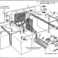 1990 Club Car 36 Volt Wiring Diagram Trane Air Conditioning Diagrams 6 Battery Library