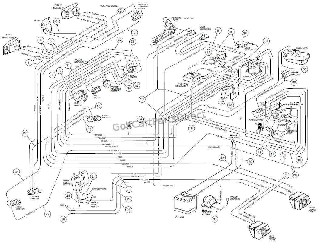 Wiring Diagram 93 Club Car