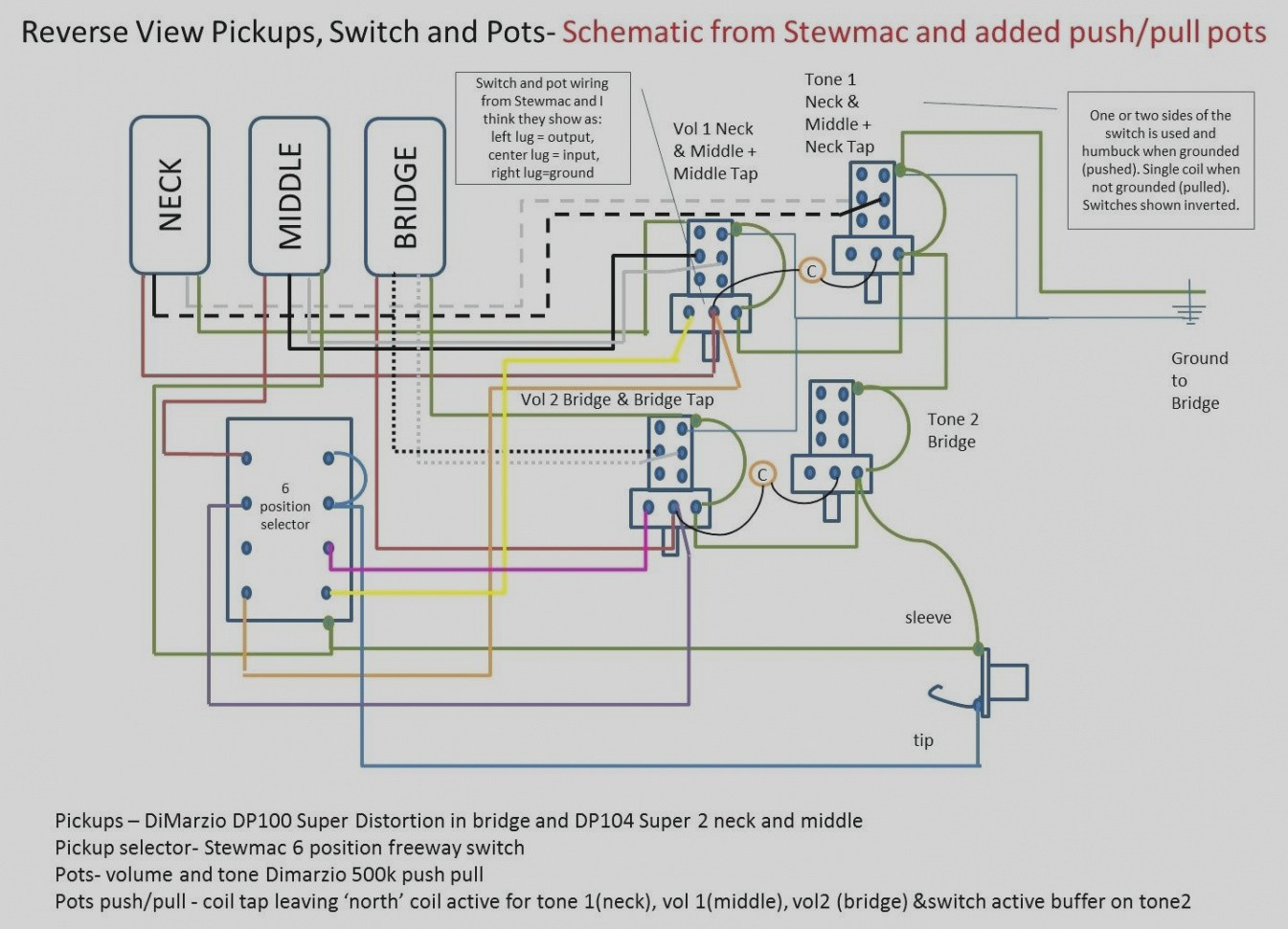 hight resolution of les paul wiring diagram push pull wiring library coil tap wiring diagram push pull circuit and
