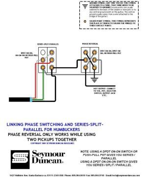Coil Tap Wiring Diagram Push Pull   Wiring Diagram Image