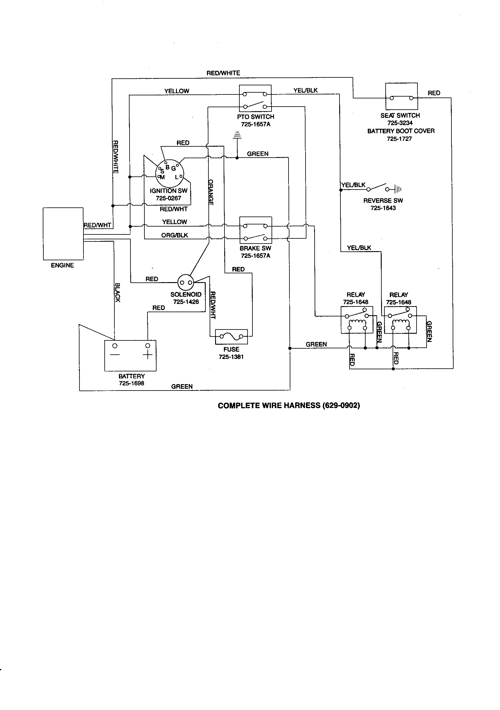 hight resolution of wiring diagram for craftsman 917 276922 riding lawn mower wiring wiring diagram for craftsman 917 276922 riding lawn mower