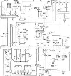 1990 ford bronco 2 alternator wiring diagram [ 900 x 1000 Pixel ]