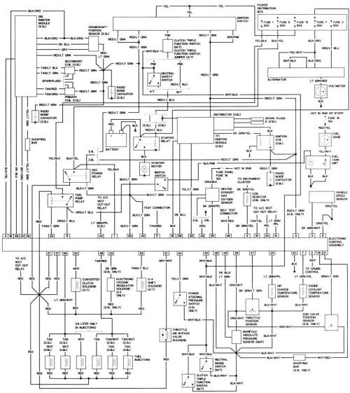 small resolution of bronco ii wiring diagram