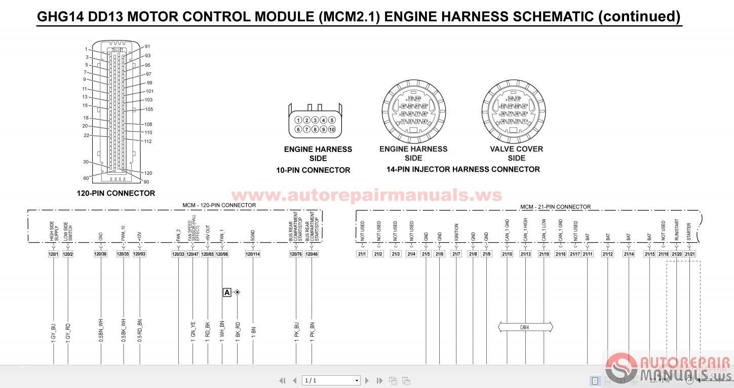 Mack Ecm Wiring Diagram