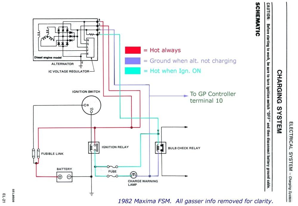 medium resolution of external regulator alternator wiring example electrical wiring wiring diagram internal regulator alternator bosch alternator wiring