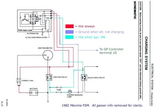 small resolution of external regulator alternator wiring example electrical wiring wiring diagram internal regulator alternator bosch alternator wiring