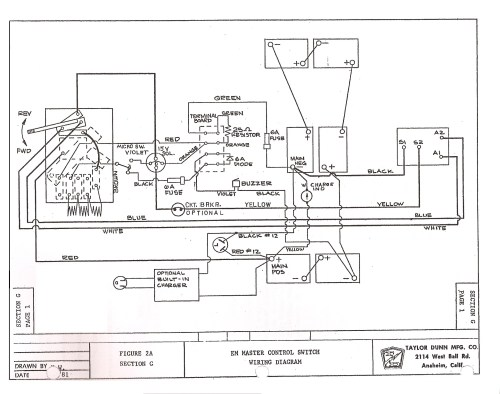 small resolution of 1990 yamaha g2 golf cart wiring diagram