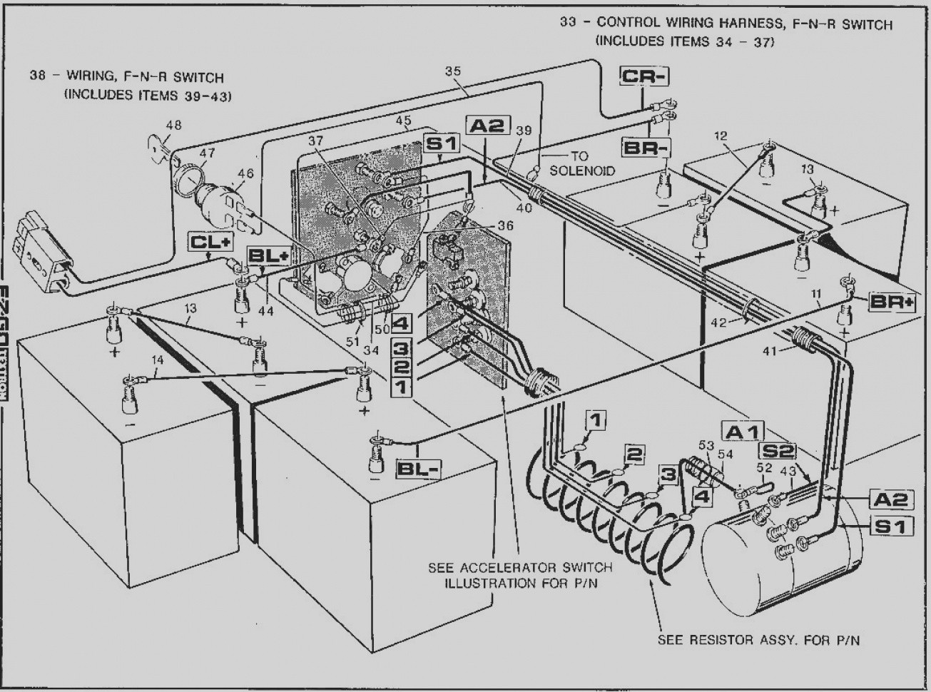 Harley Davidson Golf Cart Wiring Schematic