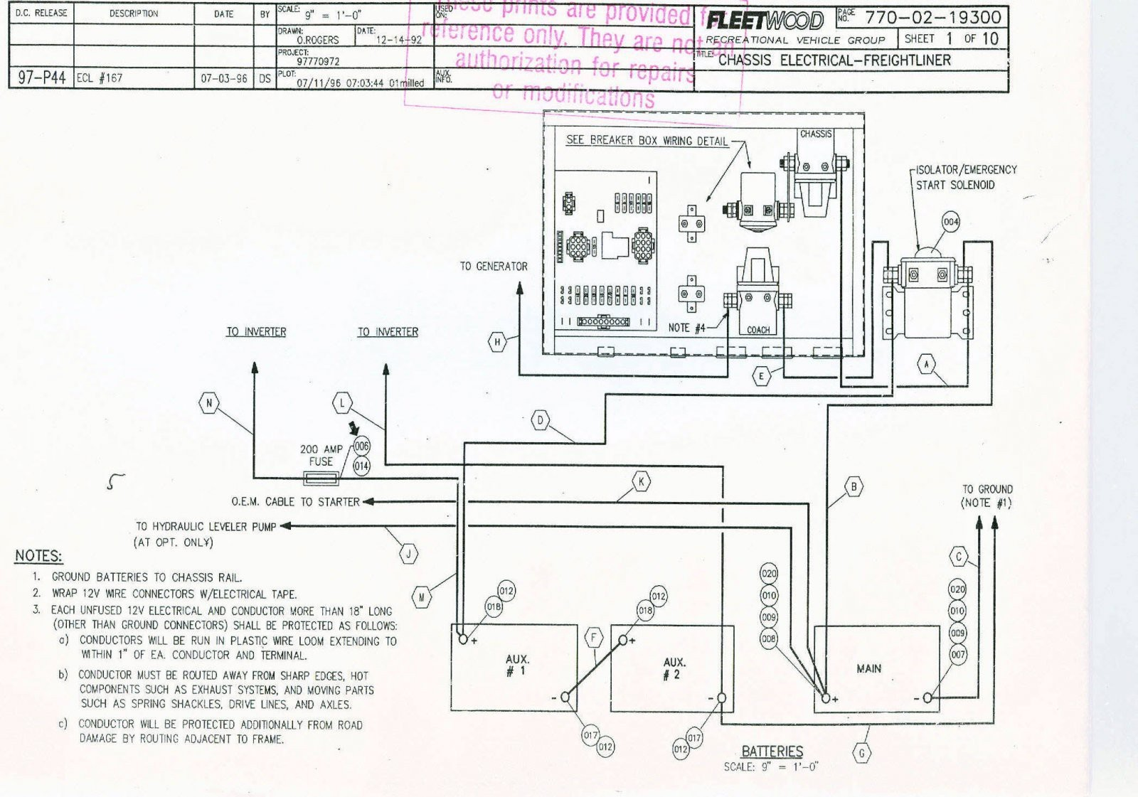Wrg Fleetwood Bounder Wiring Diagram
