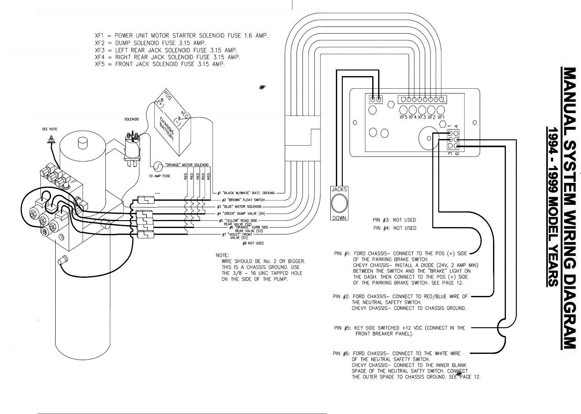 Motorhome Wiring Diagram Tiffin