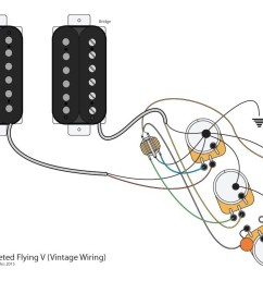 gibson flying v wiring diagram [ 1024 x 768 Pixel ]