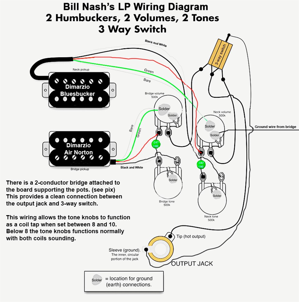 Les Paul Push Pull Wiring Schematic. Les Paul Body, Les