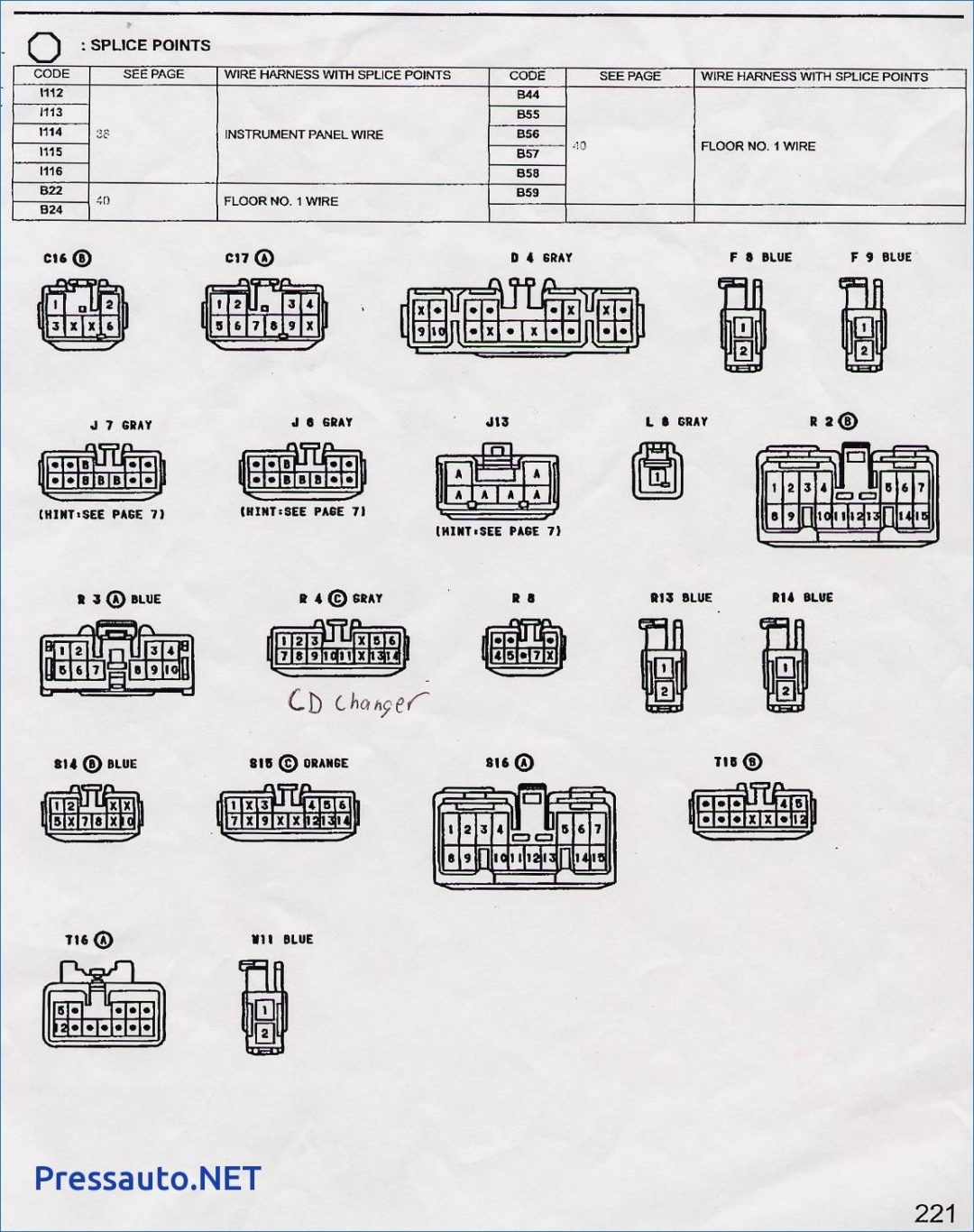 hight resolution of modern fujitsu ten toyota wiring diagram crest simple wiring rh littleforest net 1999