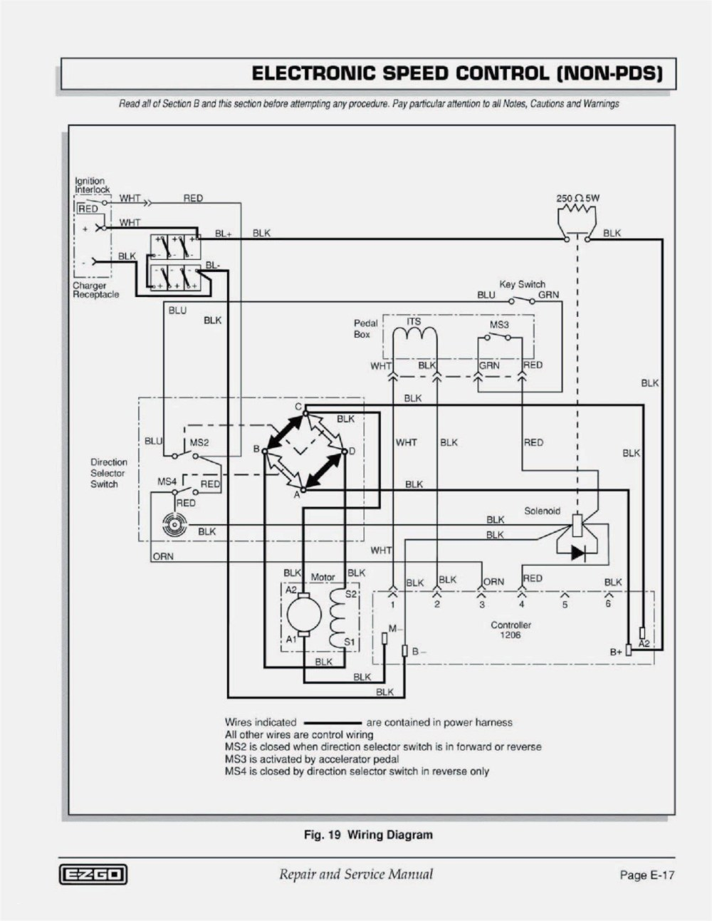 medium resolution of golf cart battery meter wiring diagram complete diagrams