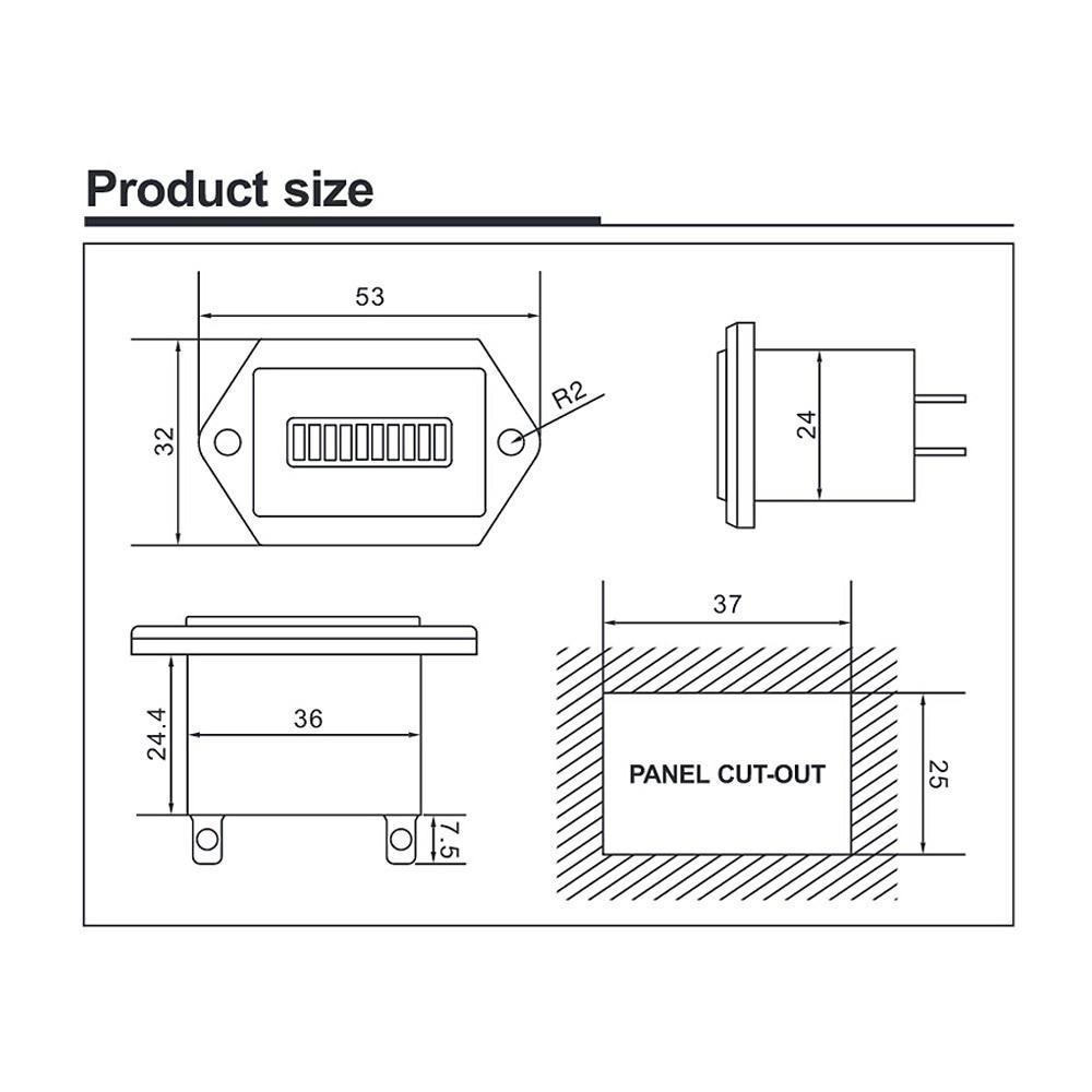 medium resolution of 36v battery indicator wiring diagram electrical wiring diagrams club cart battery wiring diagram 36v golf cart battery diagram