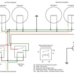 H4 Halogen Bulb Wiring Diagram 69 Mustang Headlight Library