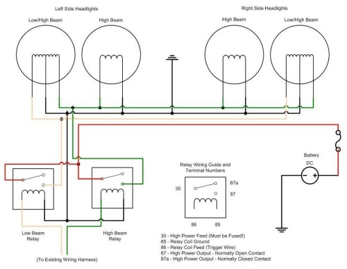 small resolution of halogen headlight wiring diagrams wiring diagram hid wiring diagram h4 wiring diagram