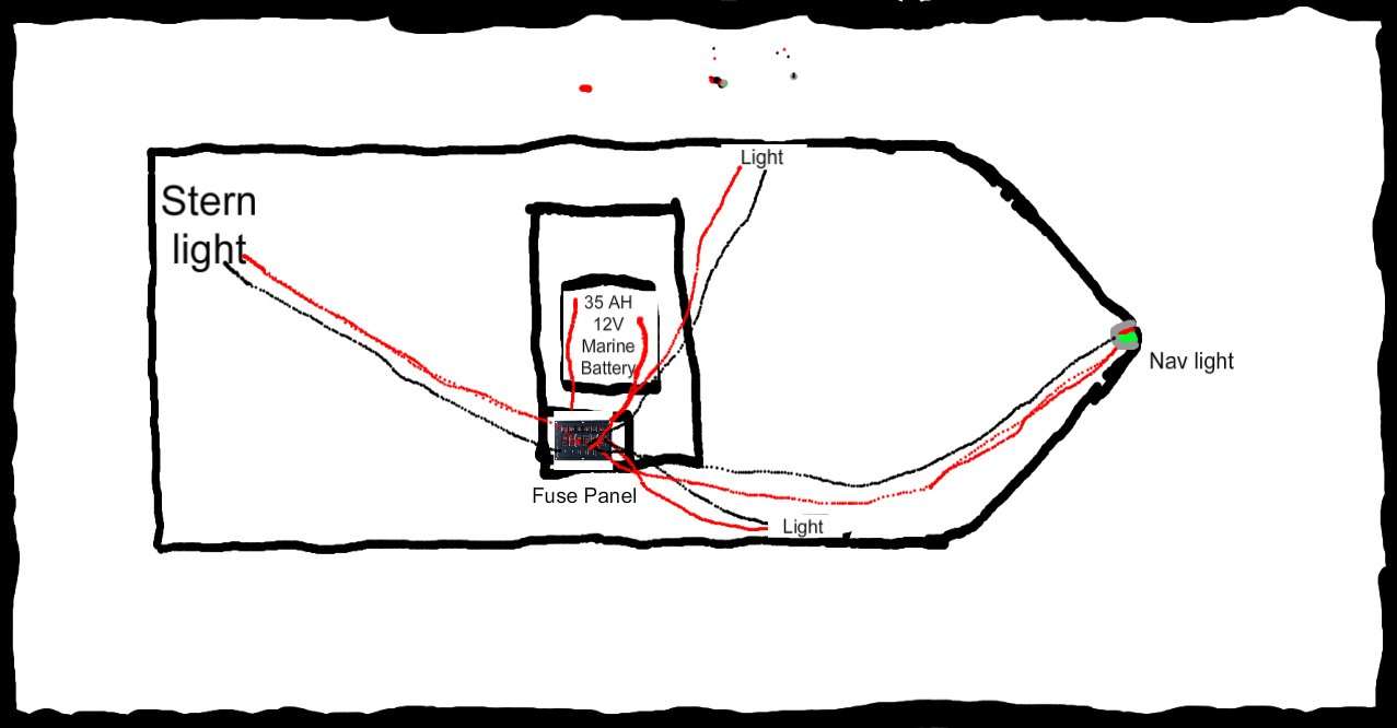 Navigation Lights Wiring Diagram