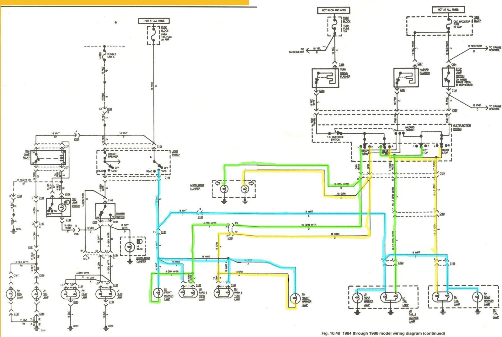 Headlight Schematic Diagram | Wiring Diagram on