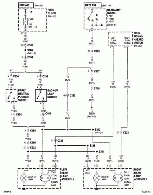 small resolution of taillight wiring diagram cj7 house wiring diagram symbols u2022 4runner tail light wiring diagram cj7